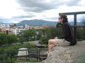Contemplating Cuenca